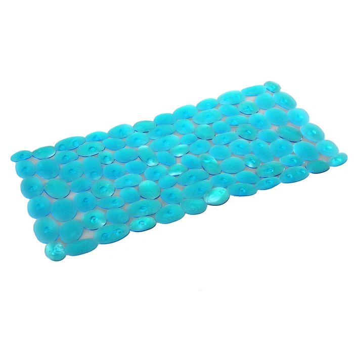 Alfombra-para-ducha-piedras-azul