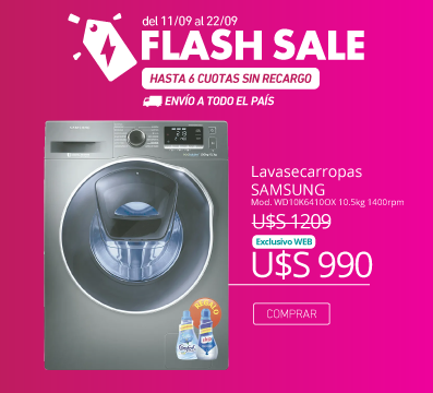 FLASH SALE----------m-lavasecarropas-349521