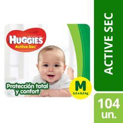 Pañales-Huggies-active-sec-hiper-M-104-un.