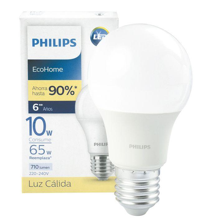 Lampara-led-PHILIPS-Mod.-Ecohome-10w--65w-e27-3000k