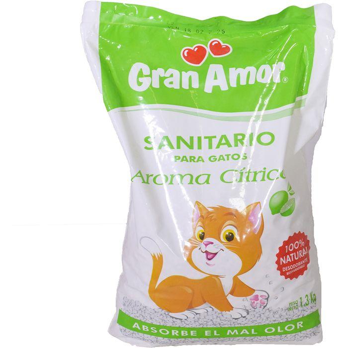 Sanitario-para-gatos-GRAN-AMOR-citrico-13-kg