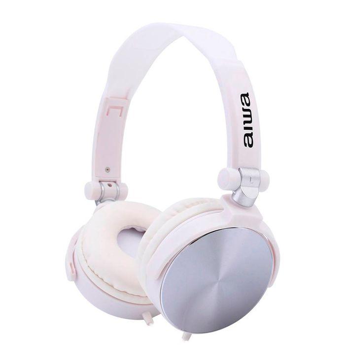 Auricular-AIWA-Mod.-awx-107-mic-manos-libres-white