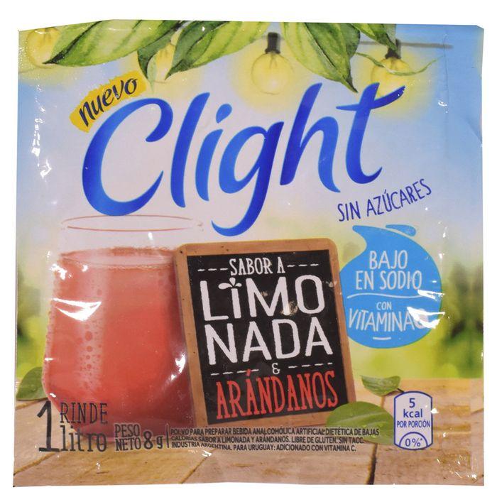 Refresco-Clight-limonada-y-arandanos-8-g