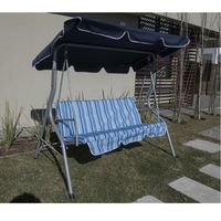 Hamaca-para-jardin-azul-y-blanca-170x110x153-cm