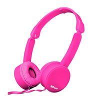 Auricular-TRUST-headphone-Mod.-Nano-Pink