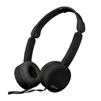 Auricular-TRUST-headphone-Mod.-Nano-Black