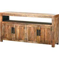 Aparador-madera-4-puertas-203x46x102-cm