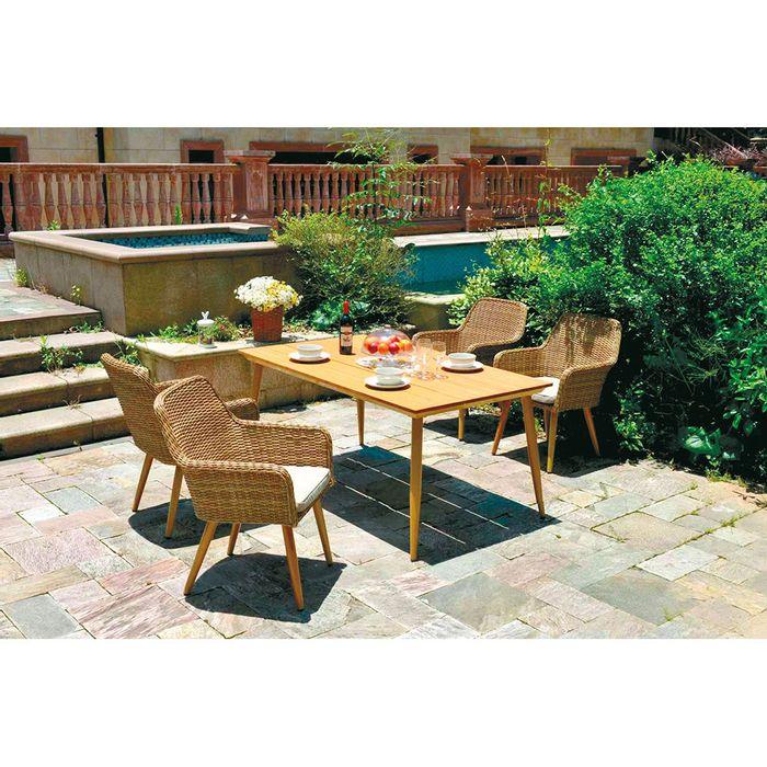 Mesa-rectangular-en-madera-para-exterior-160x91x73-cm