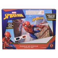 Puzzle-63-piezas-3d-con-lentes-Hombre-Araña