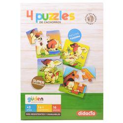 Puzzle-de-cachorros-x-4