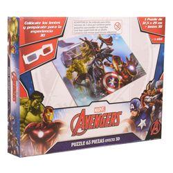 Puzzle-63-piezas-3d-con-lentes-Avenger