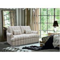 Sofa-2-cuerpos-en-tela-beige-con-rayada