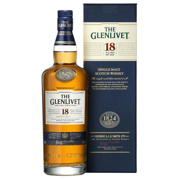 Whisky-THE-GLENLIVET-single-malt-18-years-scotch-750-cc---libreta-de-obsequio