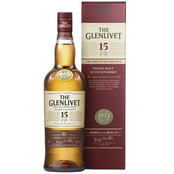 Whisky-escoces-THE-GLENLIVET-15-años-750-ml