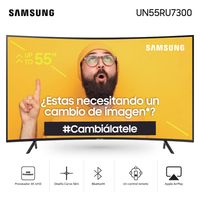 Tv-led-4K-UHD-smart-55--SAMSUNG-Mod.-un55ru7300-curvo