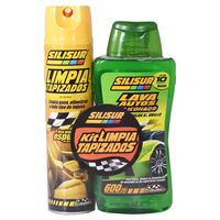 Combo-SILISUR--limpia-tapizados---lava-auto