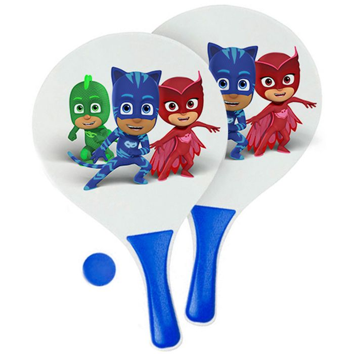 Set-de-2-paletas-de-playa---pelota-PJ-MASK