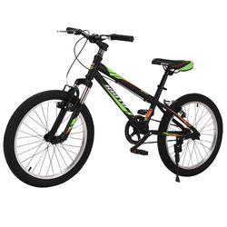 Bicicleta-Kioto-niño-rodado-20-negro-rojo