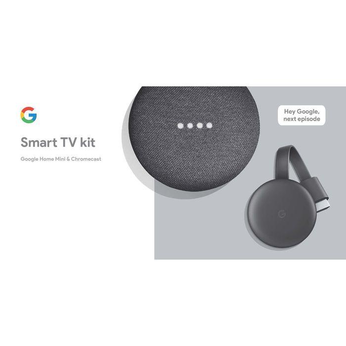 Google-Smart-tv-kit-home-mini---Chromecast