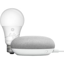 Google-Smart-light-starter-kit-home-mini---Lampara