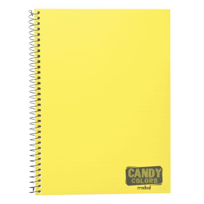Cuadernola-tapa-plastica-Candy-96h-colores-fluo