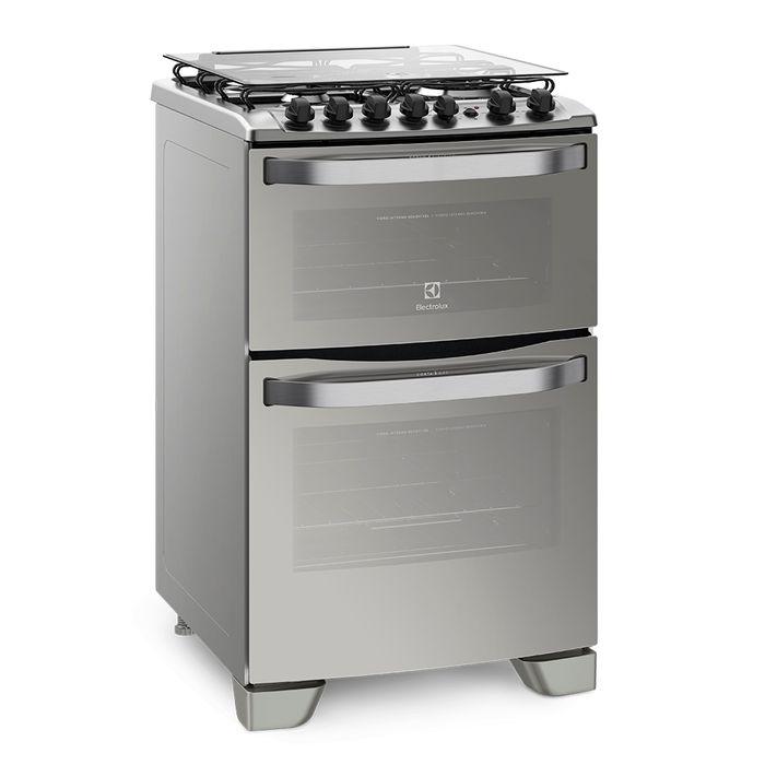 Cocina-doble-horno-ELECTROLUX-combinada-Mod.-EX56DAX