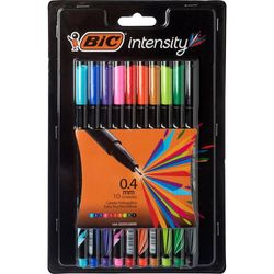 Marcadores-BIC-INTENSITY-punta-fina-0.4mm-10un-Nuevo