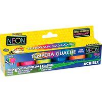 Tempera-ACRILEX-caja-con-6-colores-neon-15ml