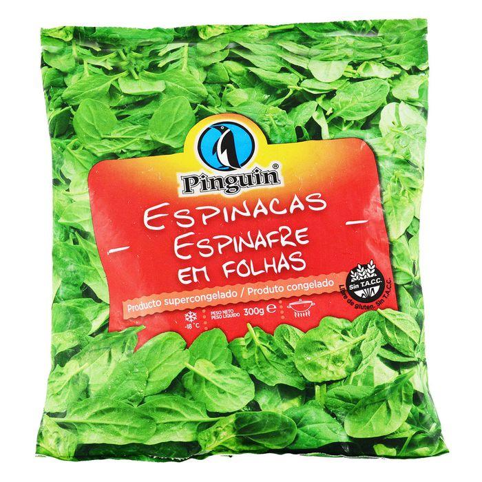 Espinaca-PINGUIN-bl.-300-g