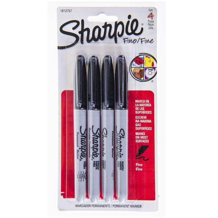 Marcador-permanente-SHARPIE-fino-4un-color-negro