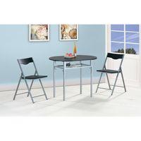 Juego-de-comedor---2-sillas-Negro-80x100cm