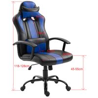 Silla-gamer-giratoria-regulable-negro-azul