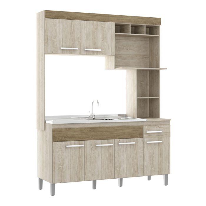 Cocina-compacta-6-puertas-1-cajon-y-estantes-malbec-210x156x53cm