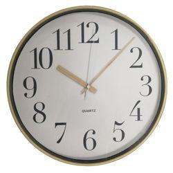 Reloj-de-pared-diametro-30cm-blanco-con-amarillo
