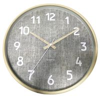 Reloj-de-pared-diametro-30cm-gris-con-amarillo