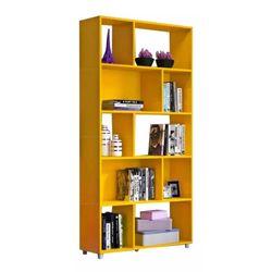 Biblioteca-en-amarillo-91x189x130-cm