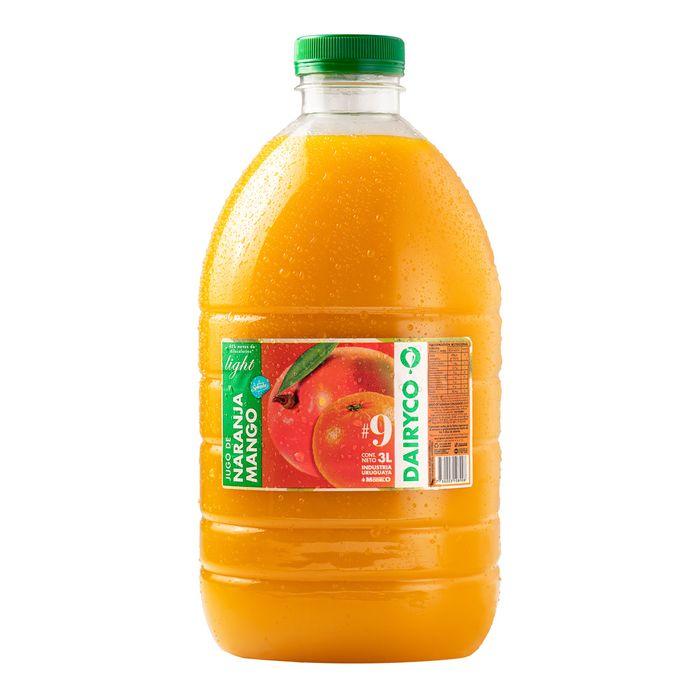 Jugo-Naranja-con-mango-light-DAIRYCO-bidon-3-L
