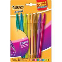 Boligrafo-BIC-Cristal-Fashion-8-colores