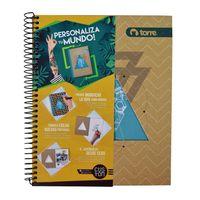 Cuaderno-TORRE-Custom-con-espiral-120-hojas