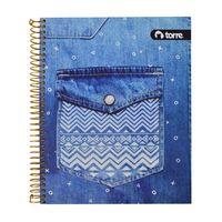 Cuaderno-TORRE-Jean-con-espiral-150-hojas
