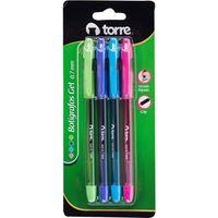 Boligrafos-gel-TORRE-0.7mm-4un-con-grip-secado-rapido