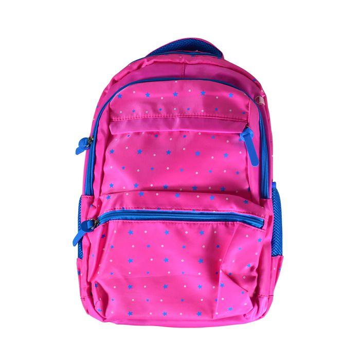 Mochila-2-bolsillos-al-frente-color-fucsia
