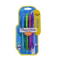 Boligrafo-PAPER-MATE-retractil-1.0mm-4-un-colores-fashion