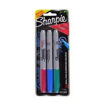 Set-3-marcadores-permanentes-SHARPIE-METALICOS-rojo-verde-azul