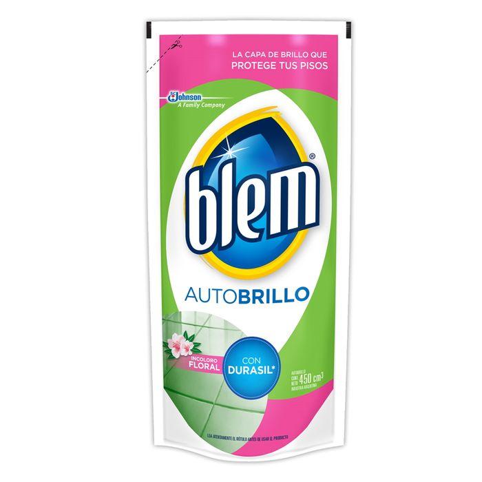 Cera-Autobrillo-BLEM-Incolora-Floral-doy-pack-450-ml