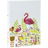 Bibliorato-A4-2-anillos-flamingo