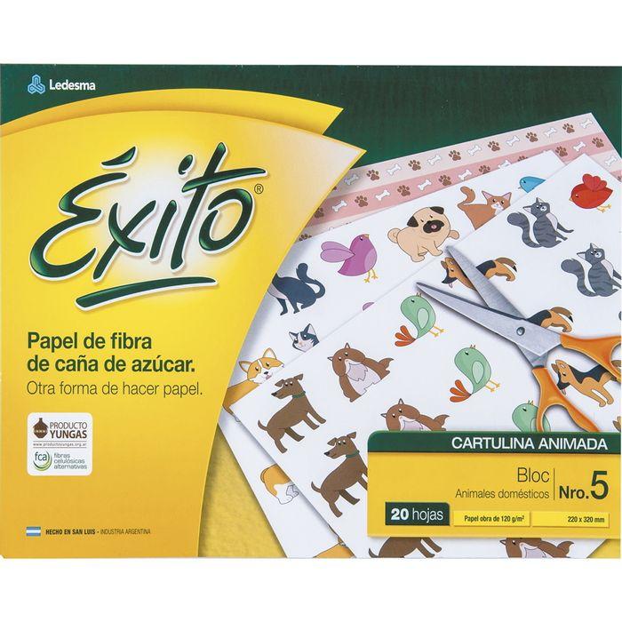 Block-cartulina-EXITO-animales-domesticos-Nº-5-20h