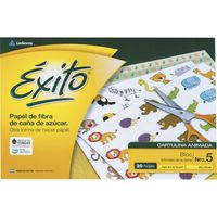 Block-cartulina-EXITO-animales-de-la-selva-Nº-5-20h