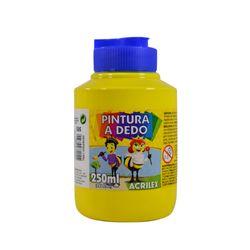 Dactilopintura-ACRILEX-pote-250ml-amarillo