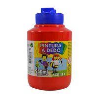 Dactilopintura-ACRILEX-pote-250ml-rojo